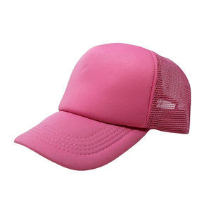 Trucker Hat - Pink Plain