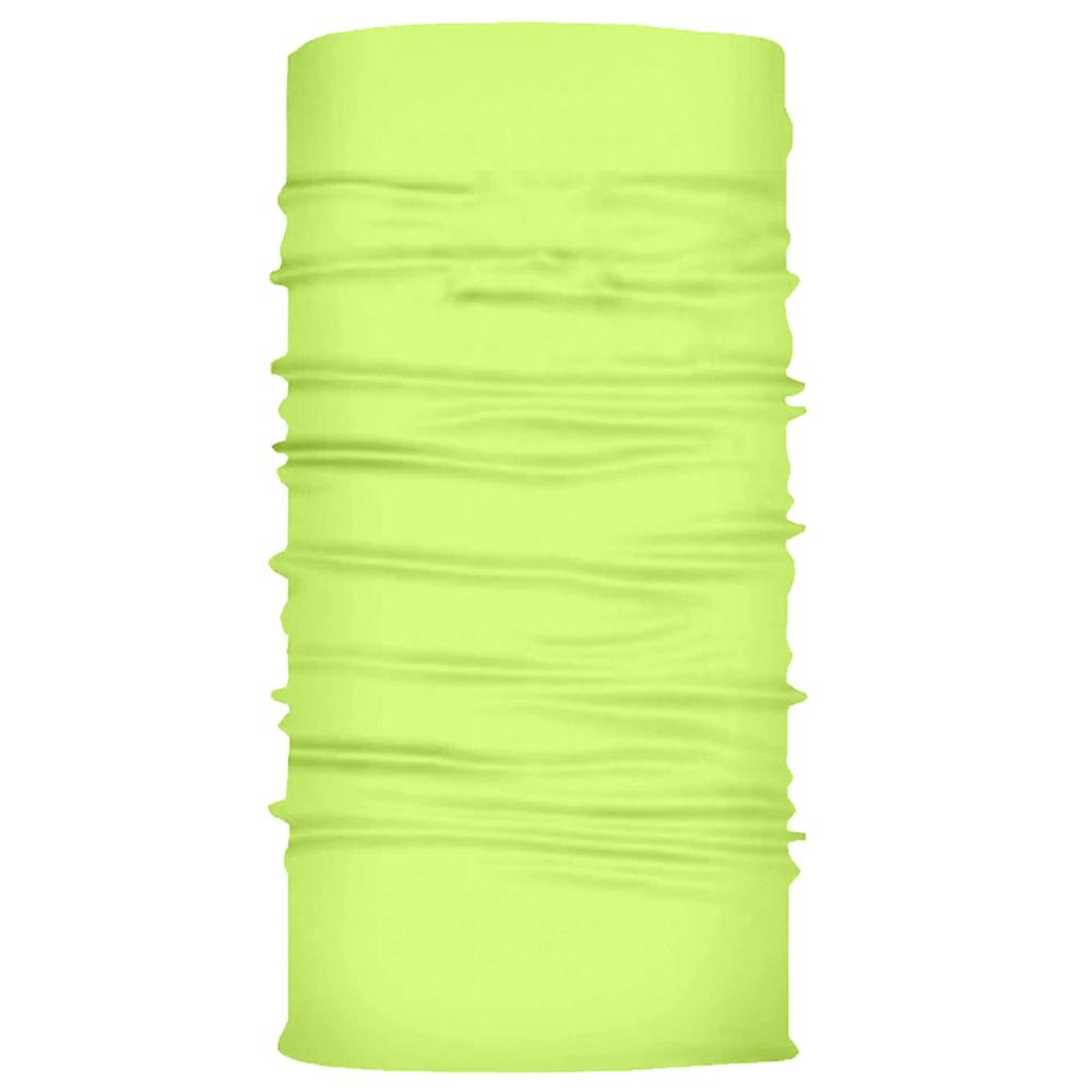 Tube Bandana - Neon Yellow Plain