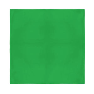 Square Bandana - Green Plain