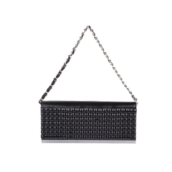 Sparkly Black Clutch Handbag