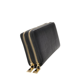 Nancy Black Vegan Leather Wallet