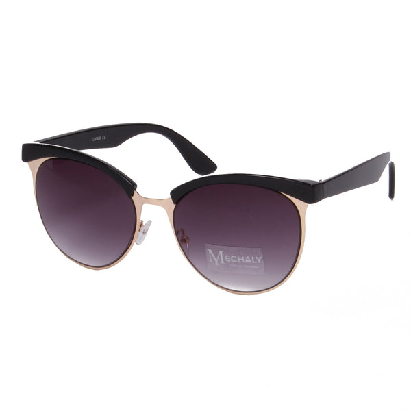 Mechaly Cat Eye Style Black Sunglasses