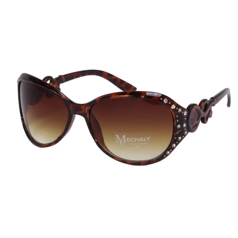 Mechaly Oval Style Tortoise Sunglasses