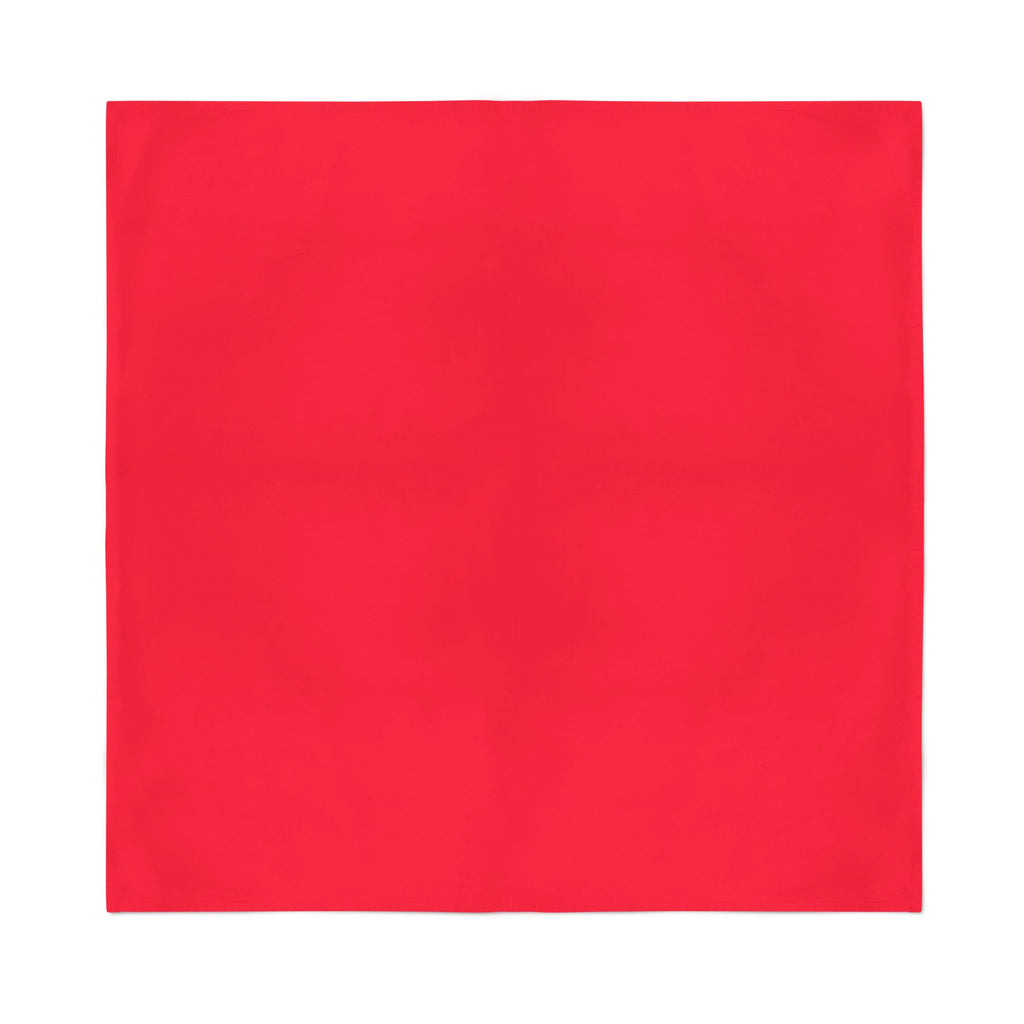 Square Bandana - Red Plain