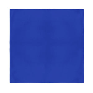 Square Bandana - Royal Blue Plain