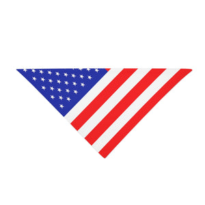 Triangle Bandana - USA Design
