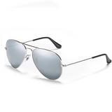 Mechaly Aviator Style Mirrored Sunglasses