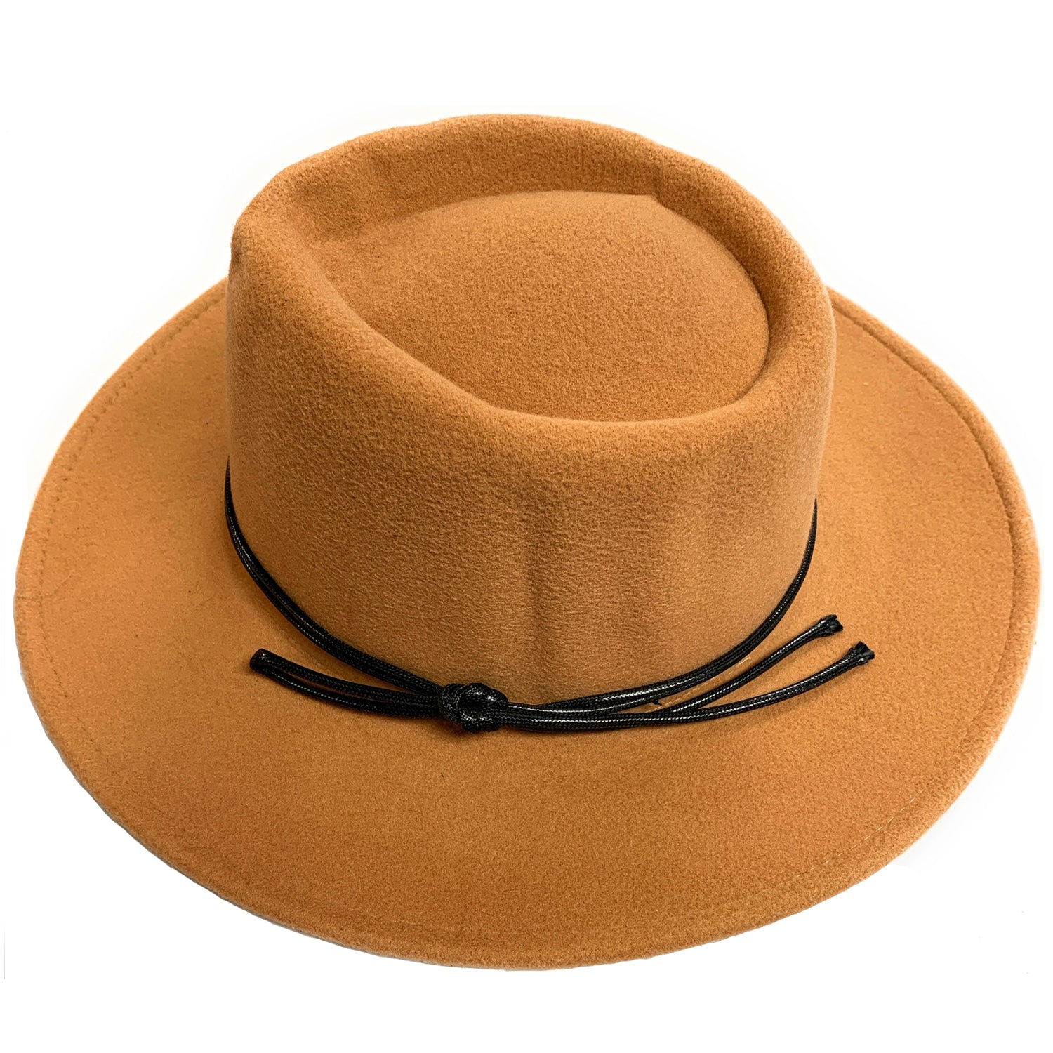 Mechaly Women's Jay Beige Homburg Vegan Hat