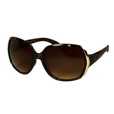 Mechaly Rectangle Style Tortoise Sunglasses