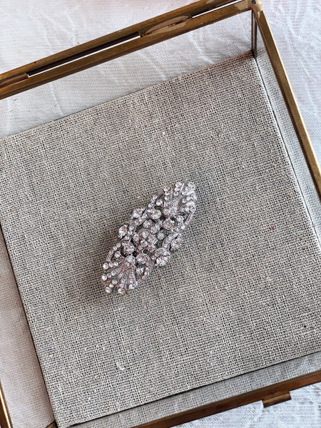 Art Deco French Barrette