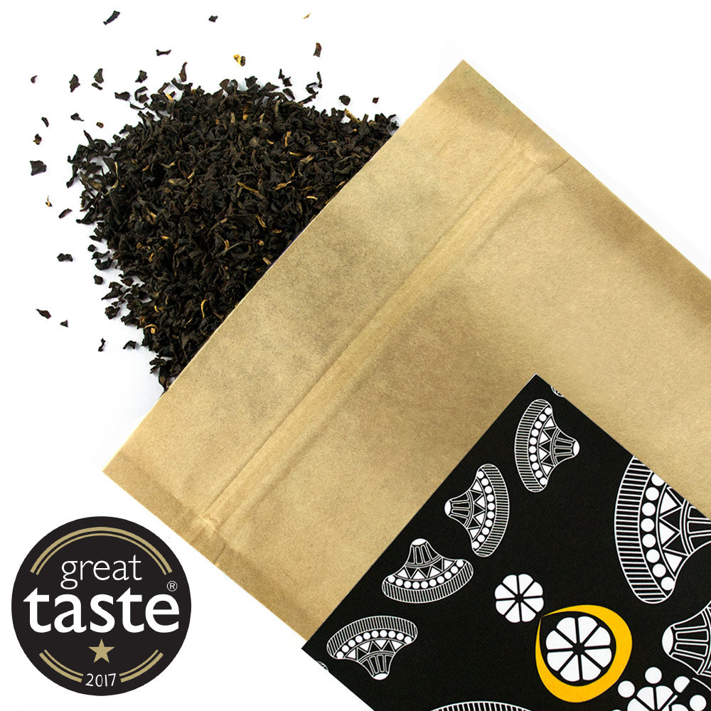 Assam Moran FBOP - Award Winning Loose Leaf Tea - Tea Shirt Tailored Refreshments