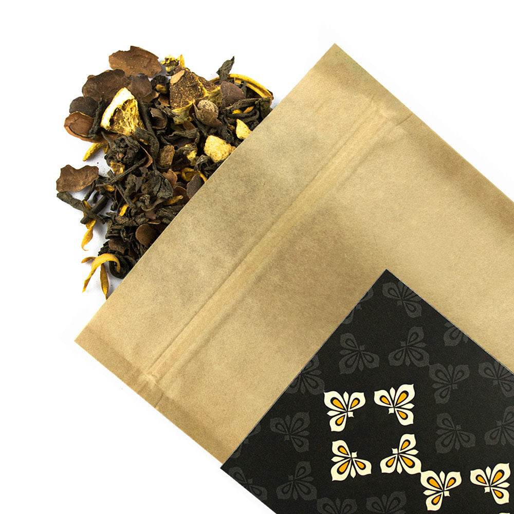 Chocolate Orange - Award Winning Loose Leaf Tea - Tea Shirt Tailored Refreshments