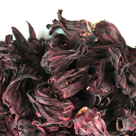 Whole Hibiscus Flowers - Award Winning Loose Leaf Tea - Tea Shirt Tailored Refreshments