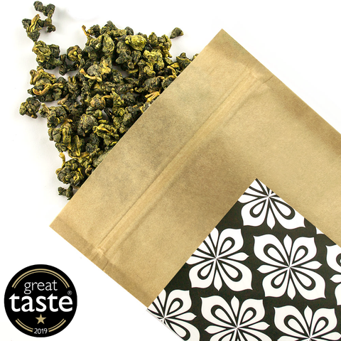Formosa Jade Oolong - Award Winning Loose Leaf Tea - Tea Shirt Tailored Refreshments