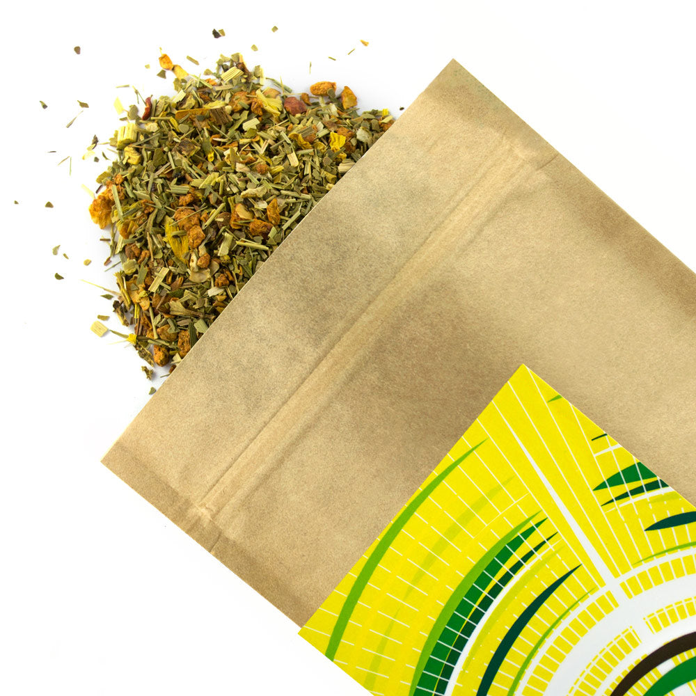 Mate Lemon & Lime Organic - Award Winning Loose Leaf Tea - Tea Shirt Tailored Refreshments