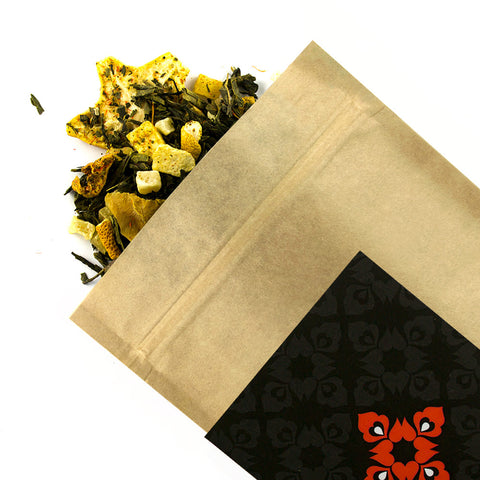 Mango & Carambola - Award Winning Loose Leaf Tea - Tea Shirt Tailored Refreshments