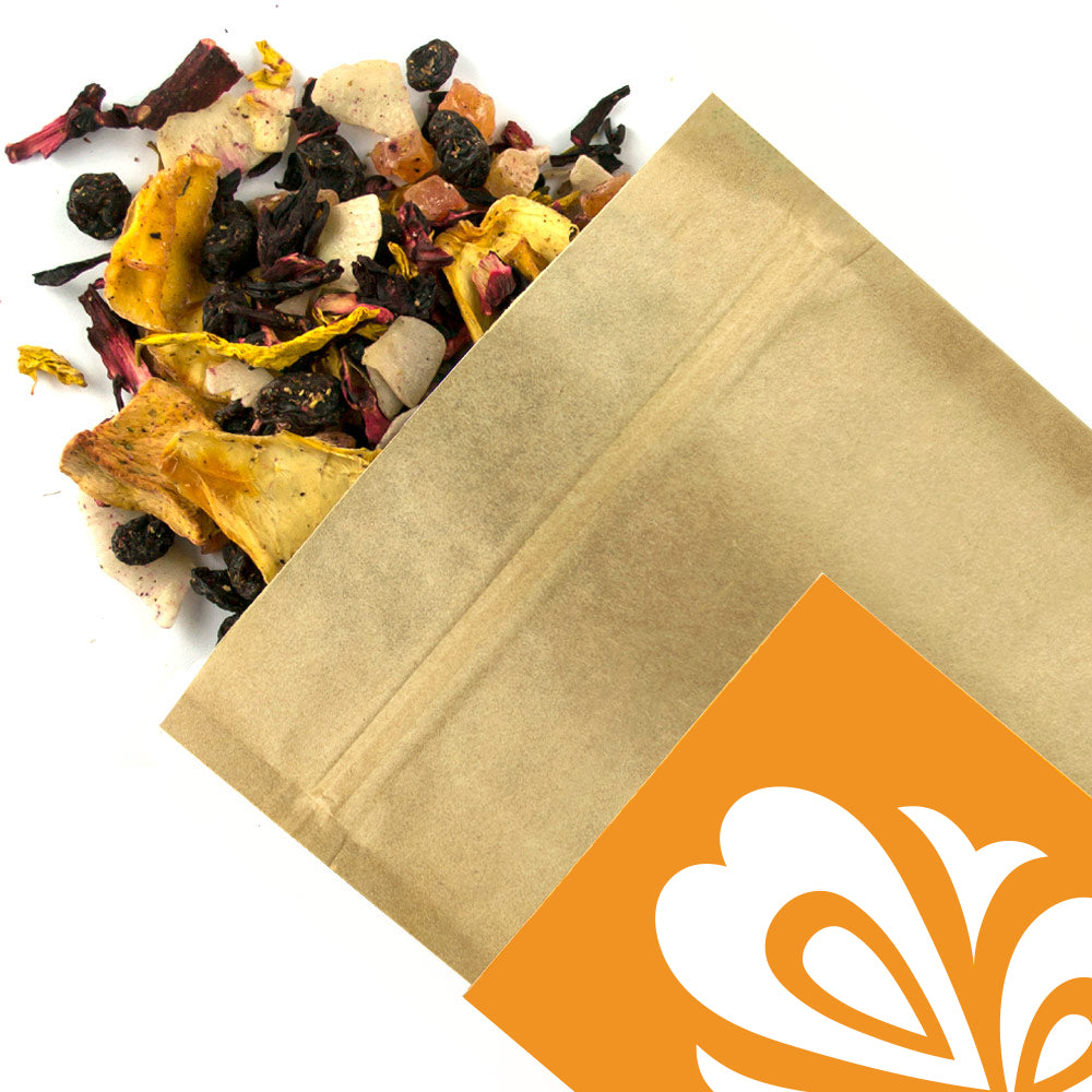 Mango & Coconut - Award Winning Loose Leaf Tea - Tea Shirt Tailored Refreshments