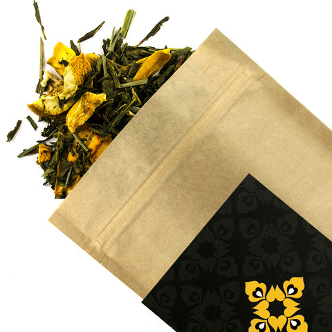 Orange & Papaya - Award Winning Loose Leaf Tea - Tea Shirt Tailored Refreshments