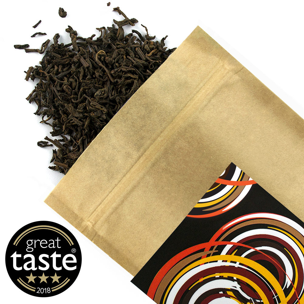 Pu-Erh Royal Palace Organic - Award Winning Loose Leaf Tea - Tea Shirt Tailored Refreshments