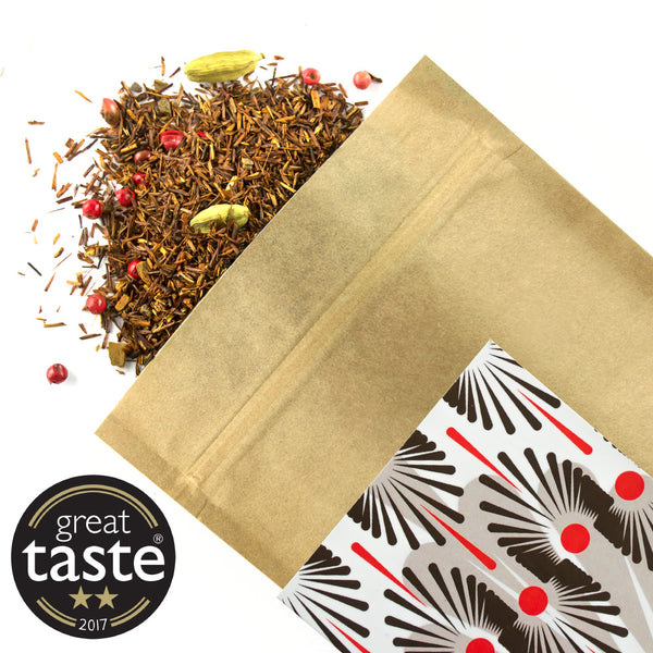 Spicy Rooibos - Award Winning Loose Leaf Tea - Tea Shirt Tailored Refreshments