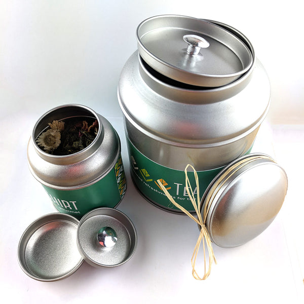 Green Tea & Mint - Award Winning Loose Leaf Tea - Tea Shirt Tailored Refreshments