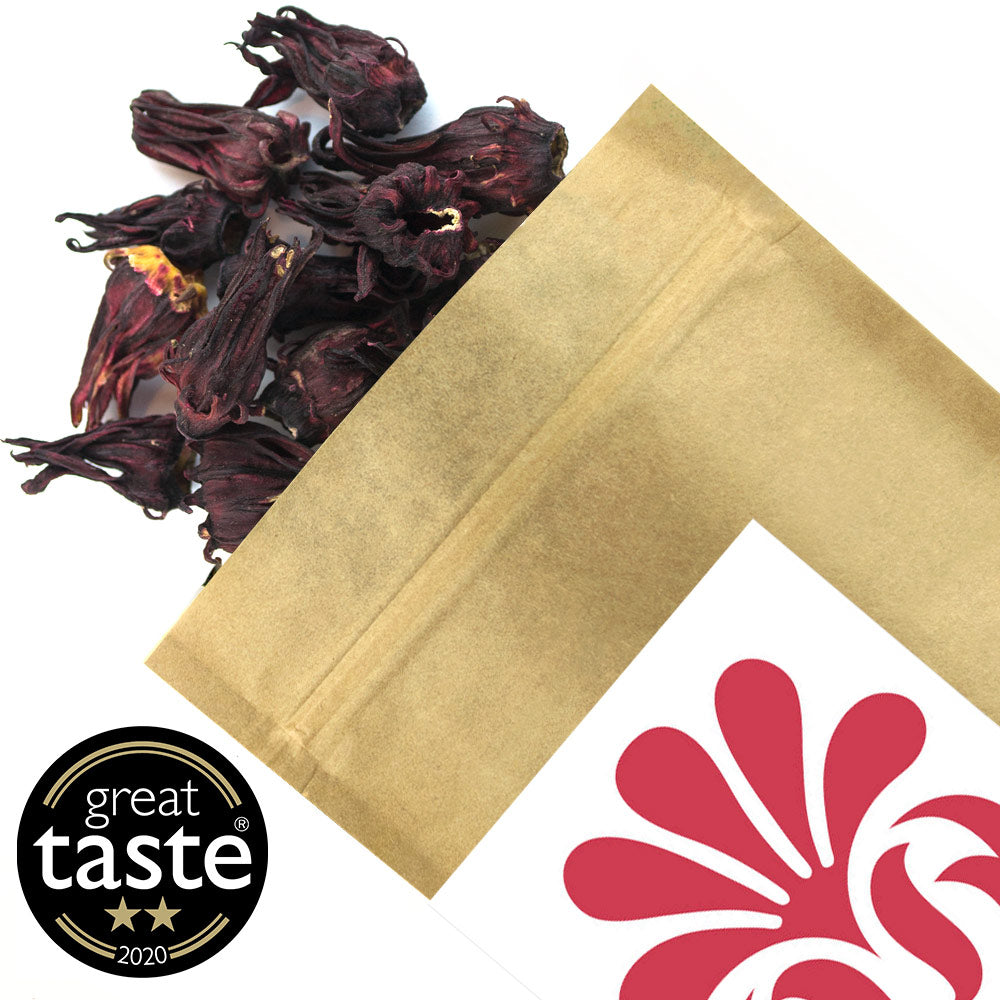 Whole Hibiscus Flowers - Loose Tea