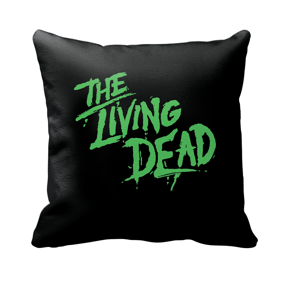 NOTLD LIVING DEAD WOVEN PILLOW