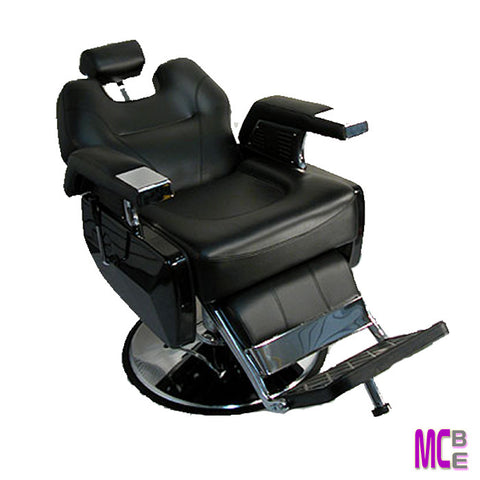 X-Heavy duty gas shock seat back recline, footrest raise •  Footrest with anti-tip pedestal