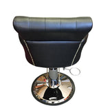 BLACK SALON STYLING CHAIR