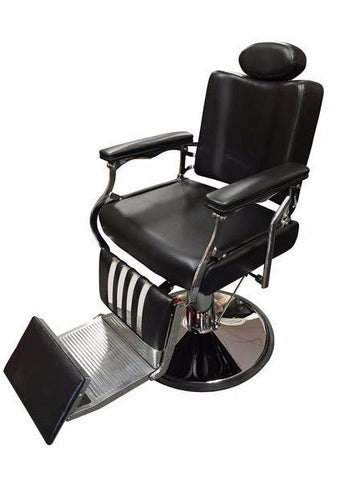 Barbershop Chair Heavy Duty Extra Wide Seat. MC BEAUTY  WWW.MCBEAUTYEQUIIPMENT.COM