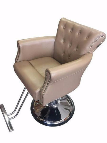 JESSICA STYLING CHAIR (BROWN GOLD)