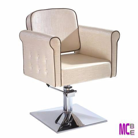 VERONICA SALON CHAIR (OFF WHITE)