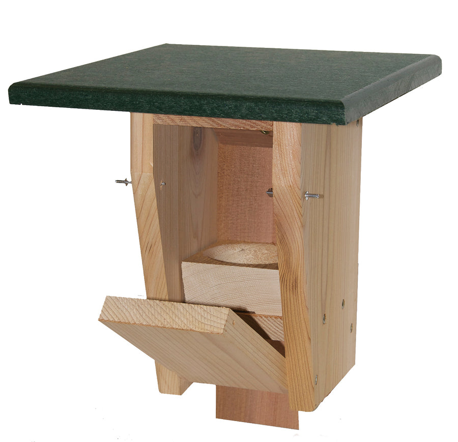 Sparrow Resistant Wooden Bluebird House