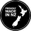 Proudly made in NZ