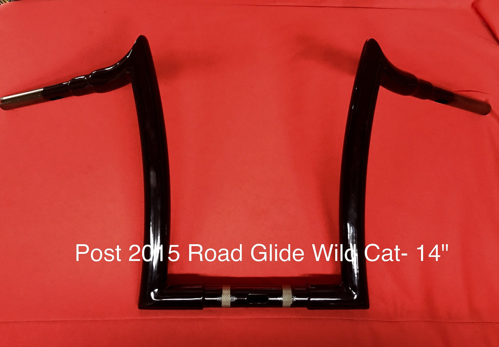 Vindikta Wild Cat Handlebars for 2015-Present Road Glides - Vindikta