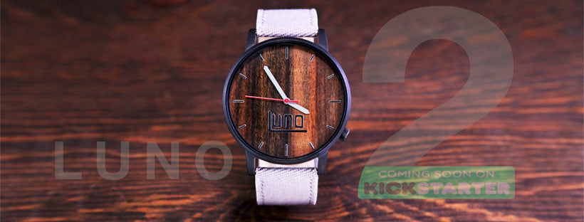 Luno 2 Watches Launching Soon On Kickstarter