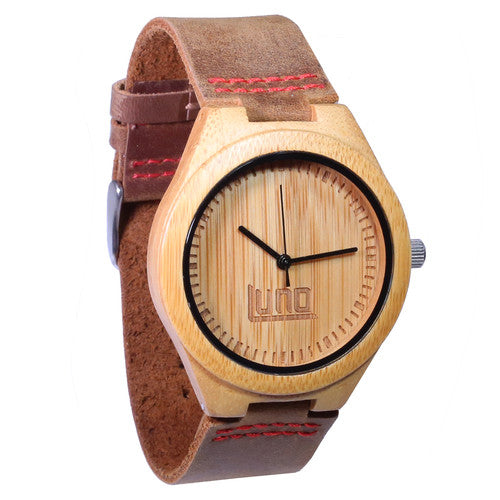 Wooden Watch | The Shoots Mens Wood Watch BAMBOO