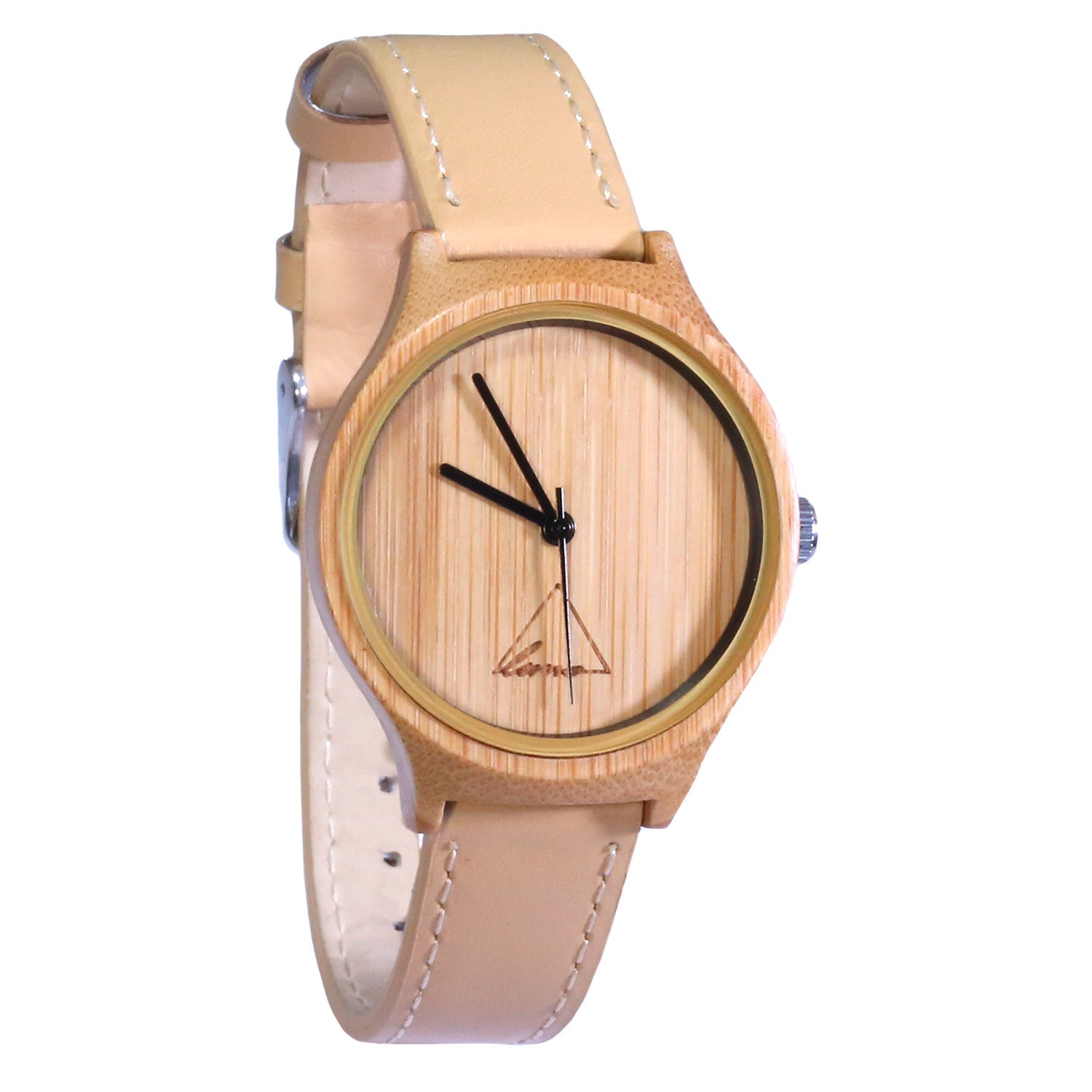 Wooden Watch | The Tan Hana Womens Bamboo Watch