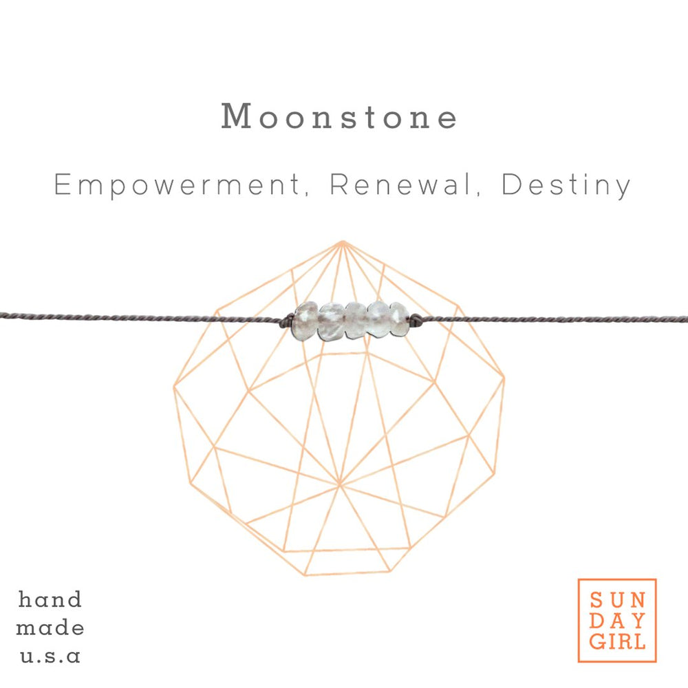 CRYSTAL INTENTION BRACELET (MOONSTONE)