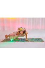 Adult Aqua Aloha Magic Carpet Yoga Mat - Magic Carpet Yoga Mats