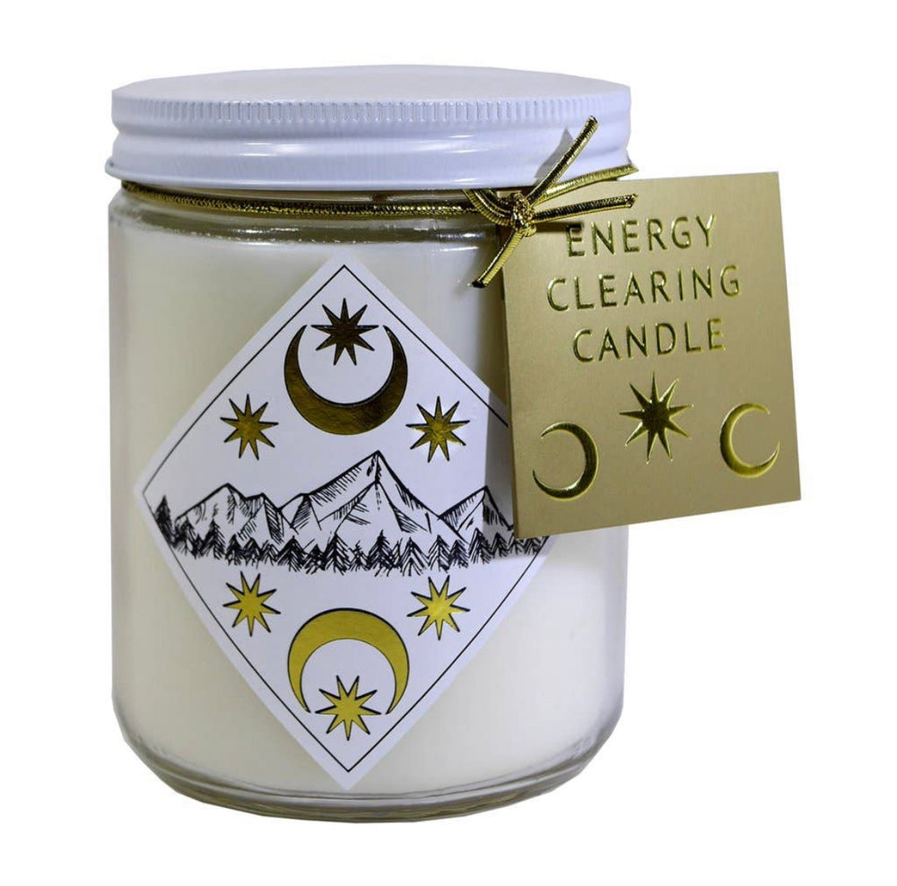 ENERGY CLEARING CANDLE (10oz)