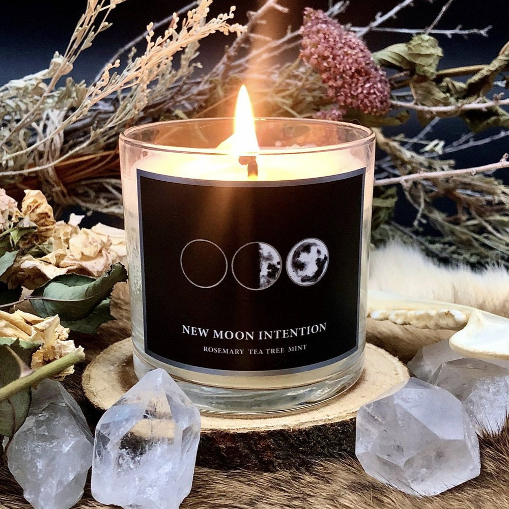 NEW MOON CANDLE (6oz)