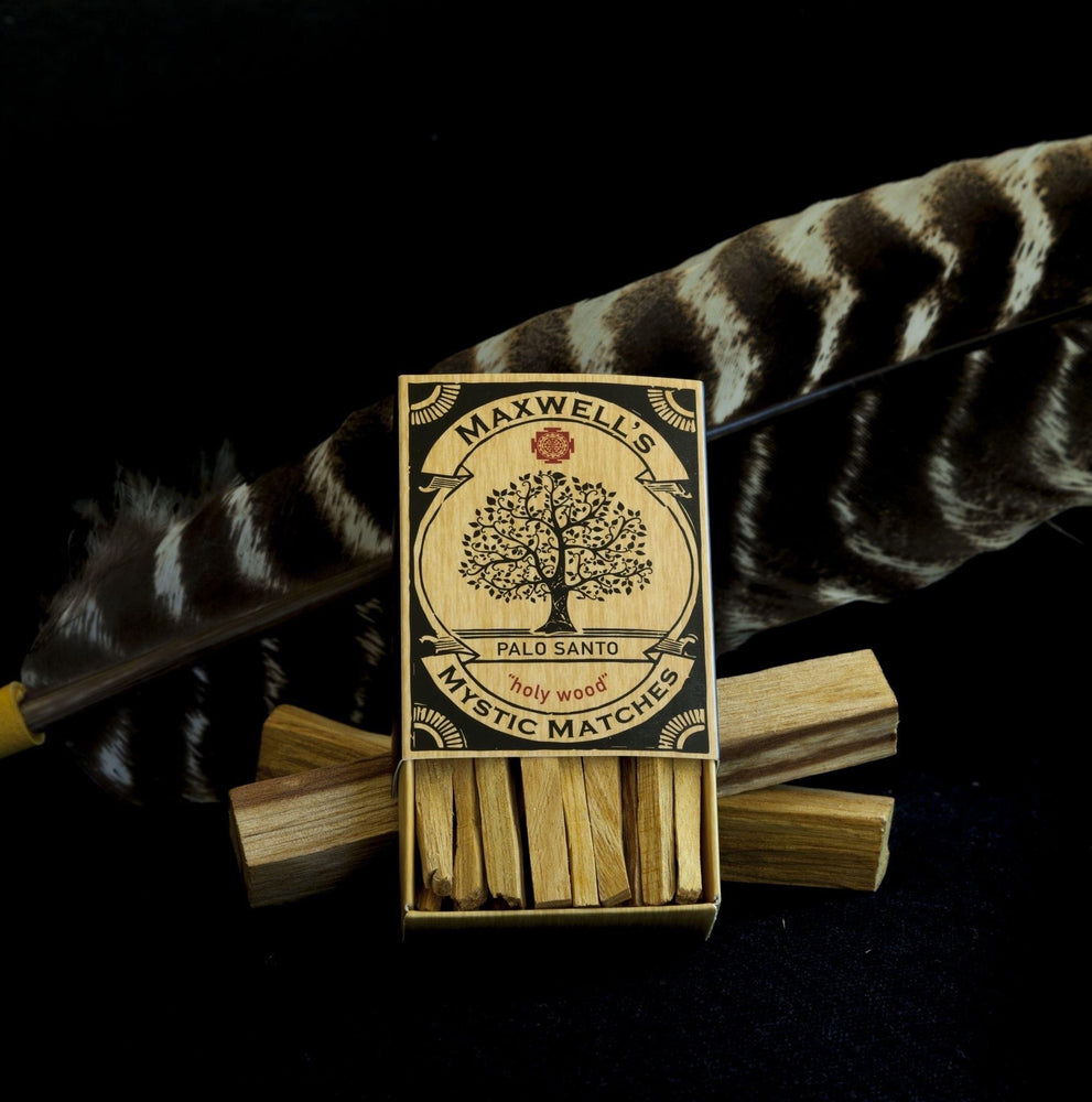 Ethically Harvested Palo Santo Matches