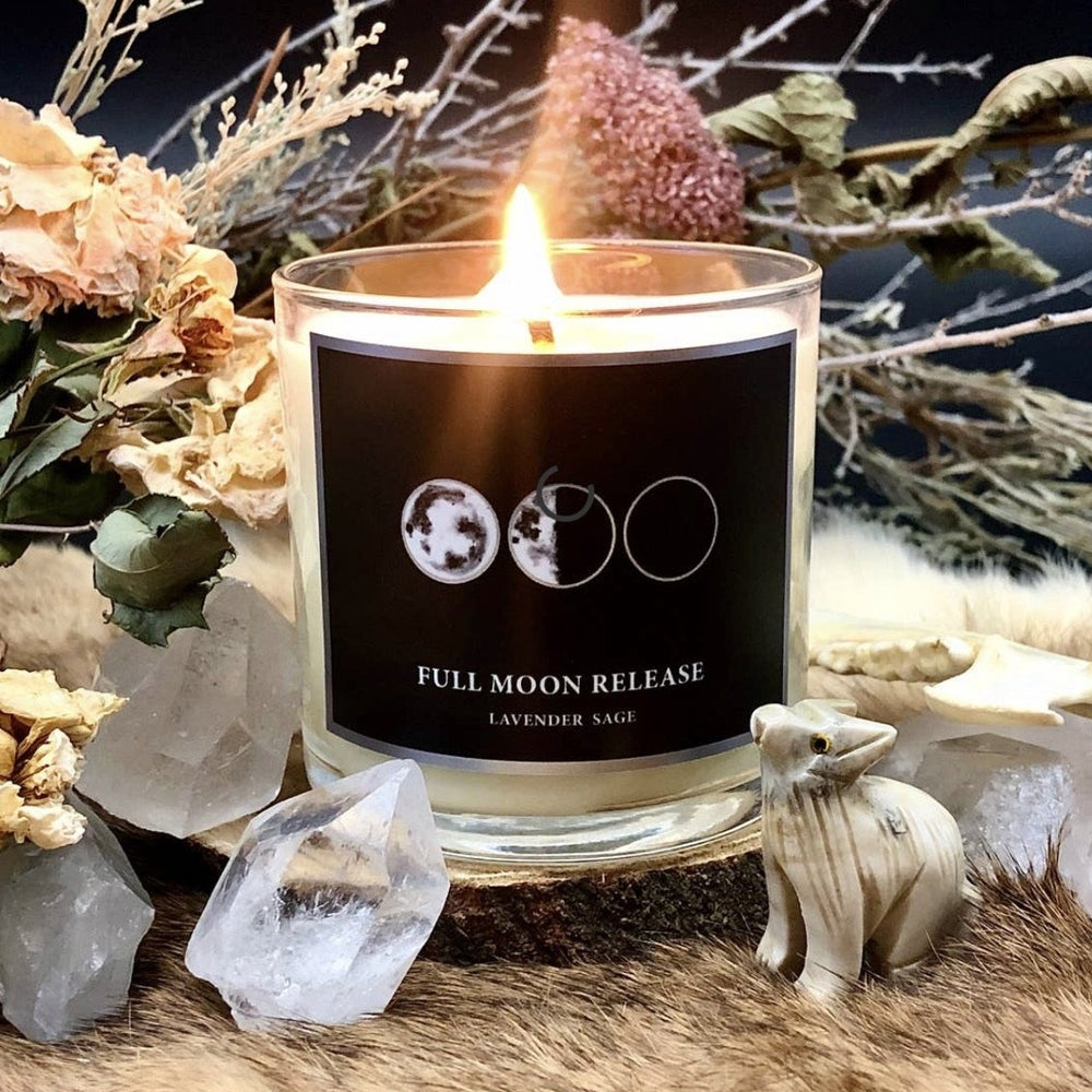 FULL MOON CANDLE (6oz)
