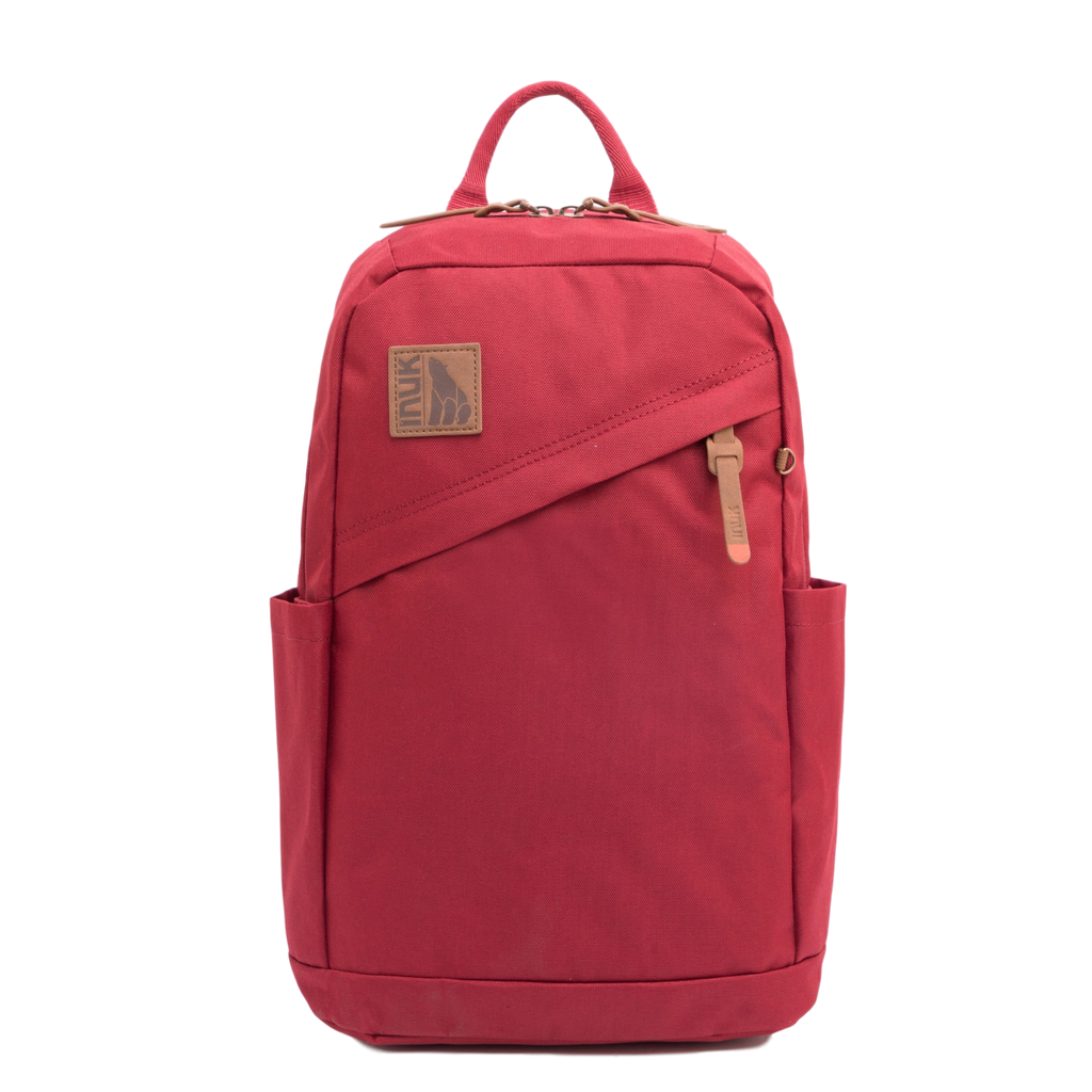 Primary Collection - Golden Backpack-Goji Red - INUK  BAGS