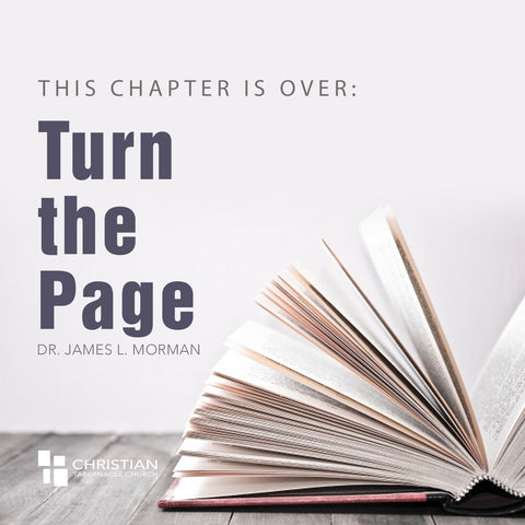 The Chapter is Over: Turn The Page