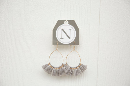 Fan Tassle Earrings