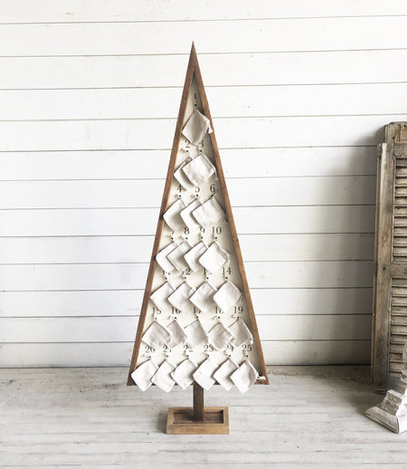 Oversized Advent Tree