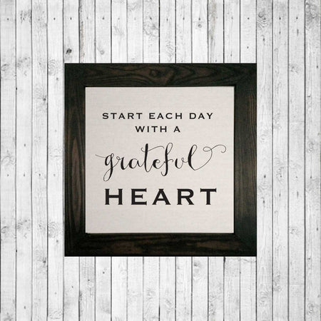 GRATEFUL HEART stained