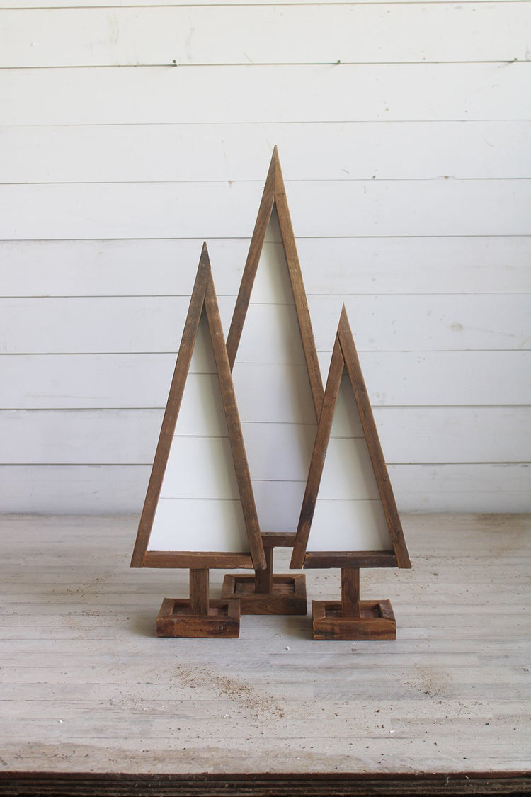 Shiplap Reclaimed Wood Trees